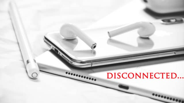 Airpods,iPhone,繋がらない